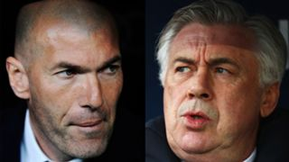 Zinedine Zidane Carlo Ancelotti