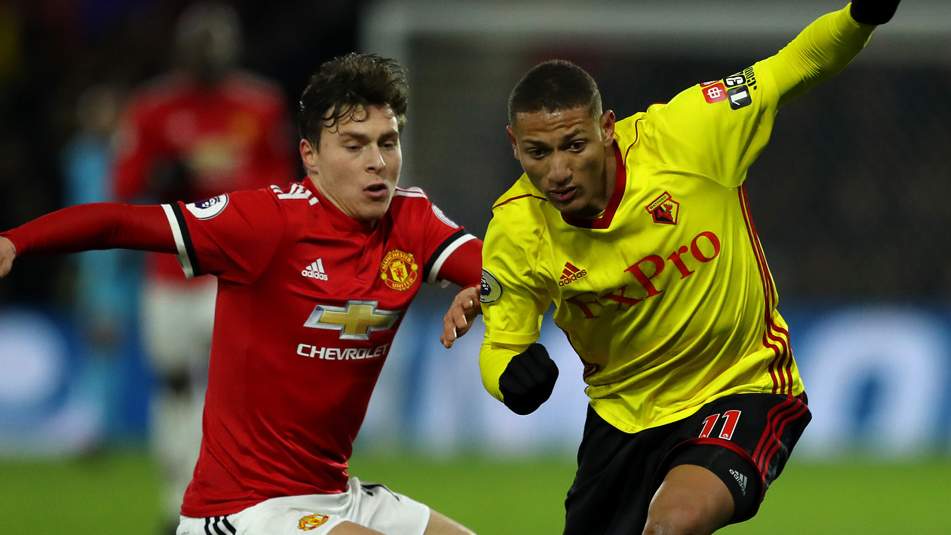 Richarlison Lindelof Watford Manchester United 28112018 Premier League