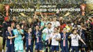 Le PSG remporte le Trophée des champions face au Stade Rennais à Shenzhen (CHN), le 3 août 2019