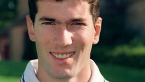 Young Zinedine Zidane France