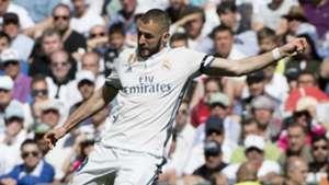 Karim Benzema Real Madrid Atletico Madrid La Liga