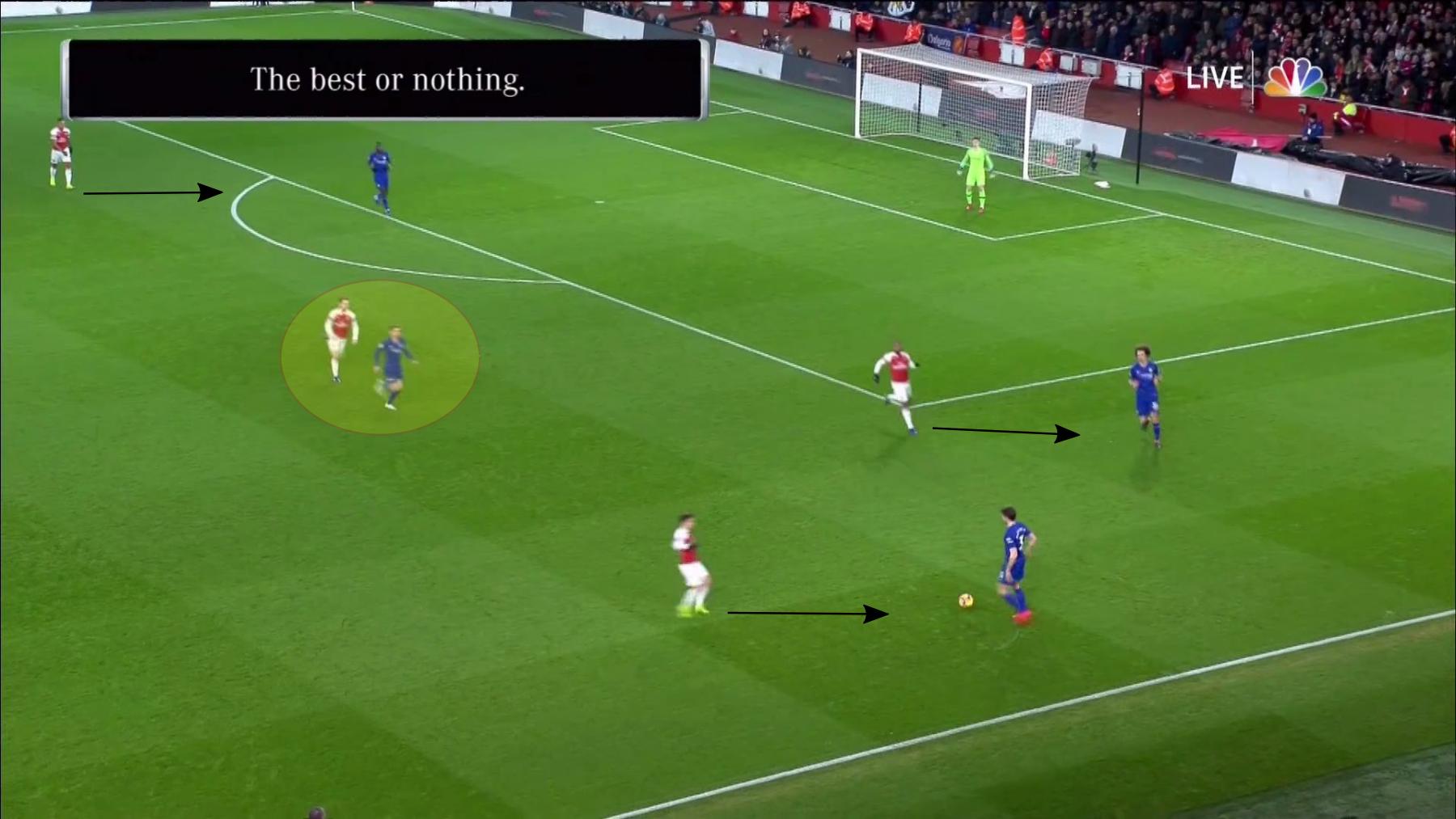Arsenal Chelsea 1.