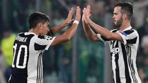 Dybala Pjanic Juventus Sporting Champions League
