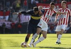 Estudiantes Boca Cristian Pavon Superliga argentina 200818