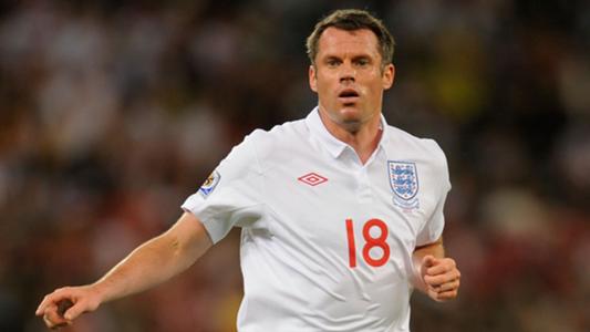 Jamie Carragher World Cup 2010 England