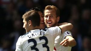 Harry Kane Ben Davies Tottenham