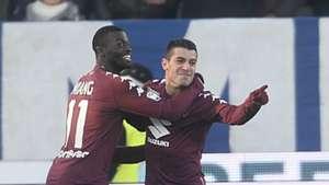 Mbaye Niang, Iago Falque, SPAL, Torino, Serie A, 23122017