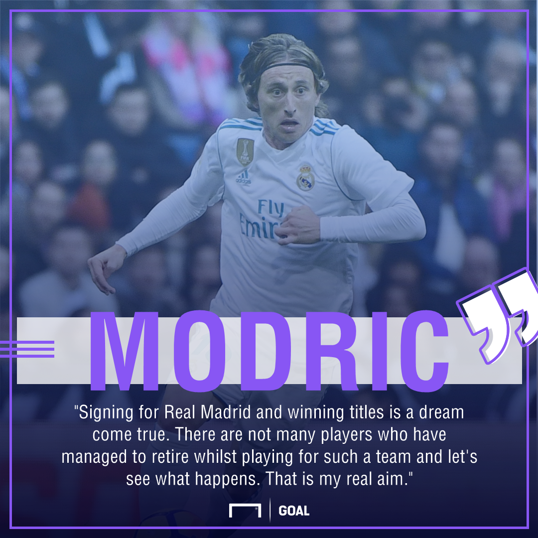 Luka Modric retire at Real Madrid