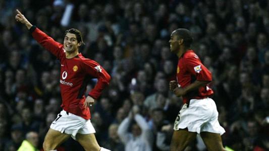 Ronaldo Man Utd Portsmouth 2003