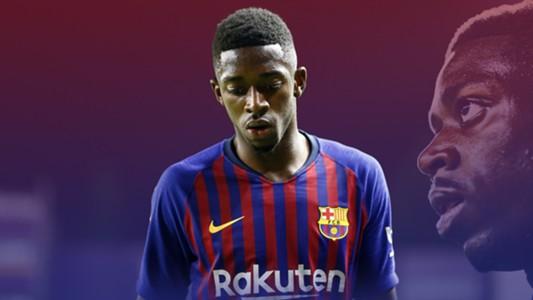 GFX Ousmane Dembele FC Barcelona