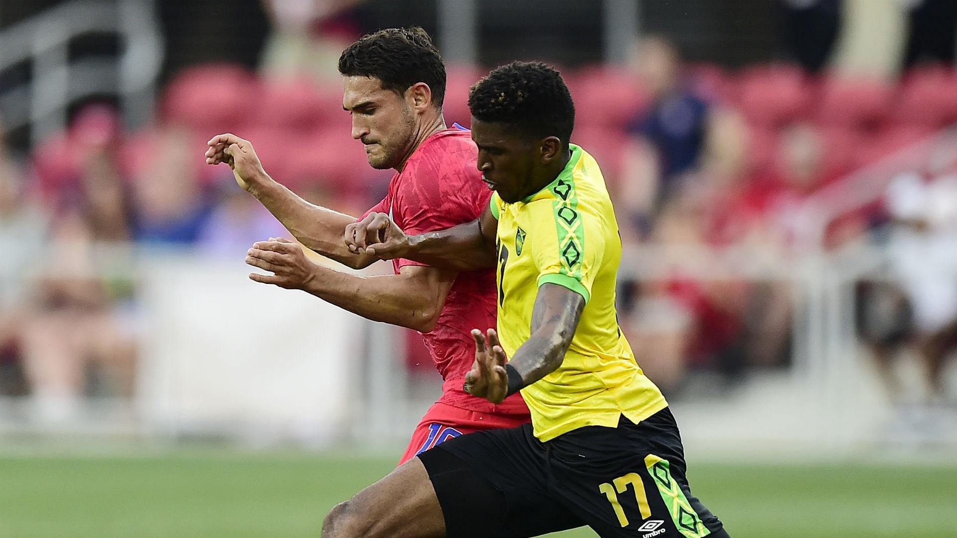 Cristian Roldan Damion Lowe USA Jamaica 2019