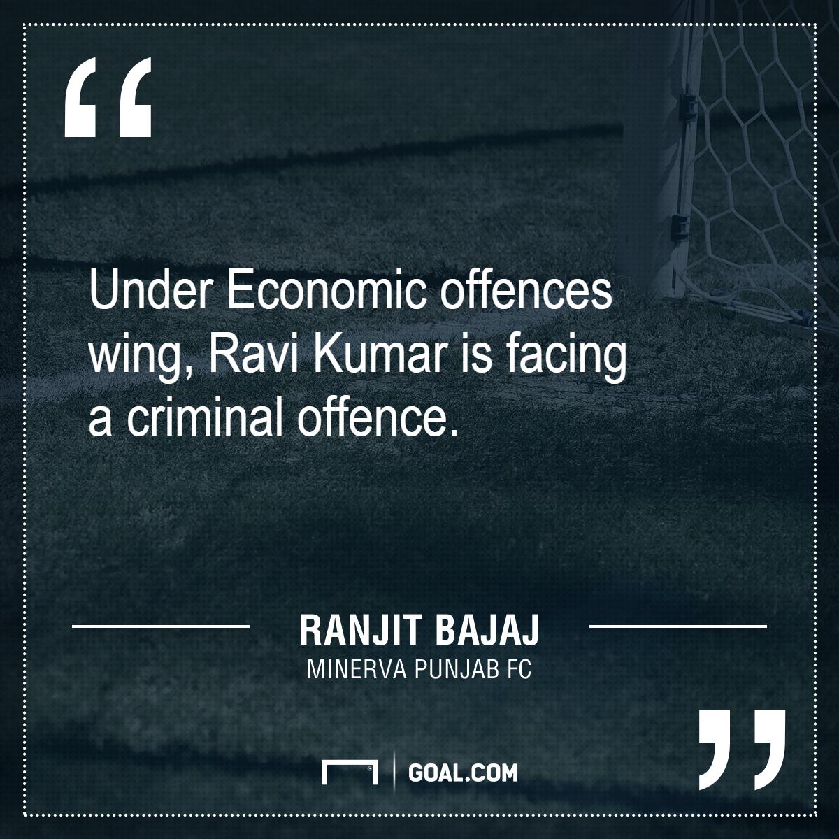 GFX Ranjit Bajaj quote