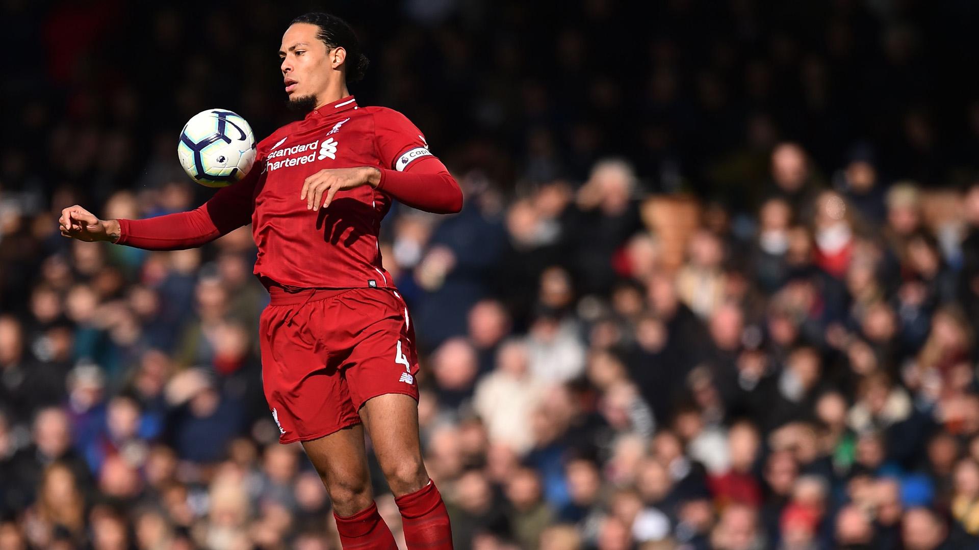 Van Dijk Liverpool 2019