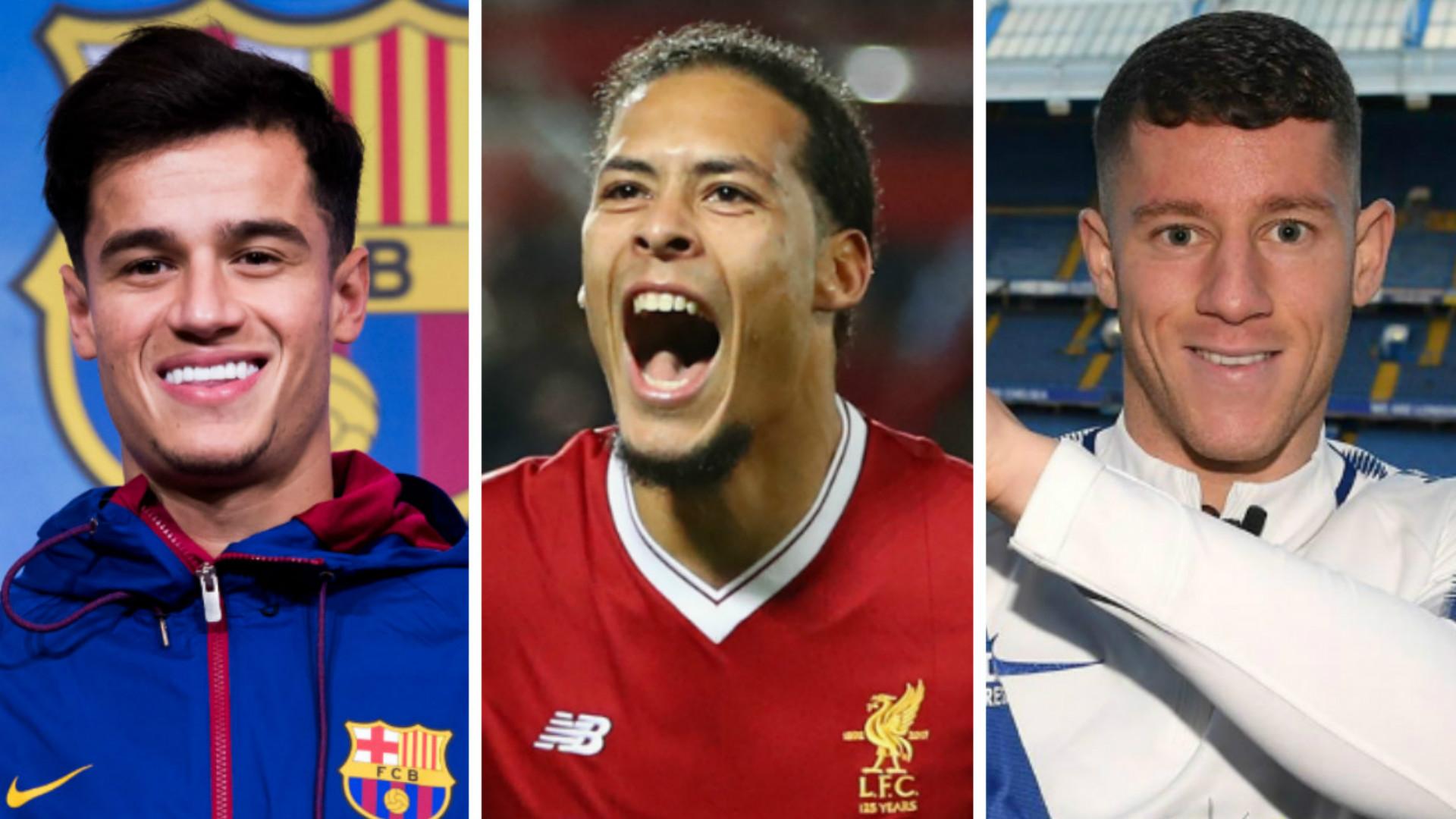 Coutinho, Van Dijk, Barkley