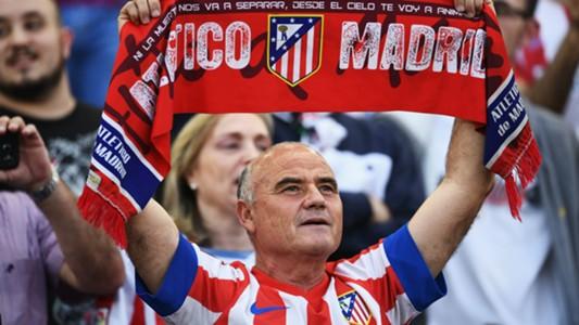 Atletico Madrid fan
