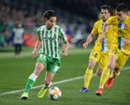 Lainez Betis Espanyol Copa del Rey
