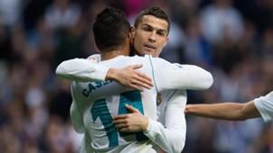 Ronaldo Casemiro Real Madrid Malaga