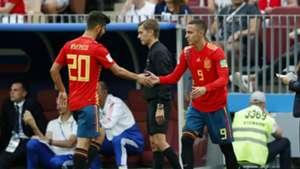 Rodrigo Spain Russia World Cup