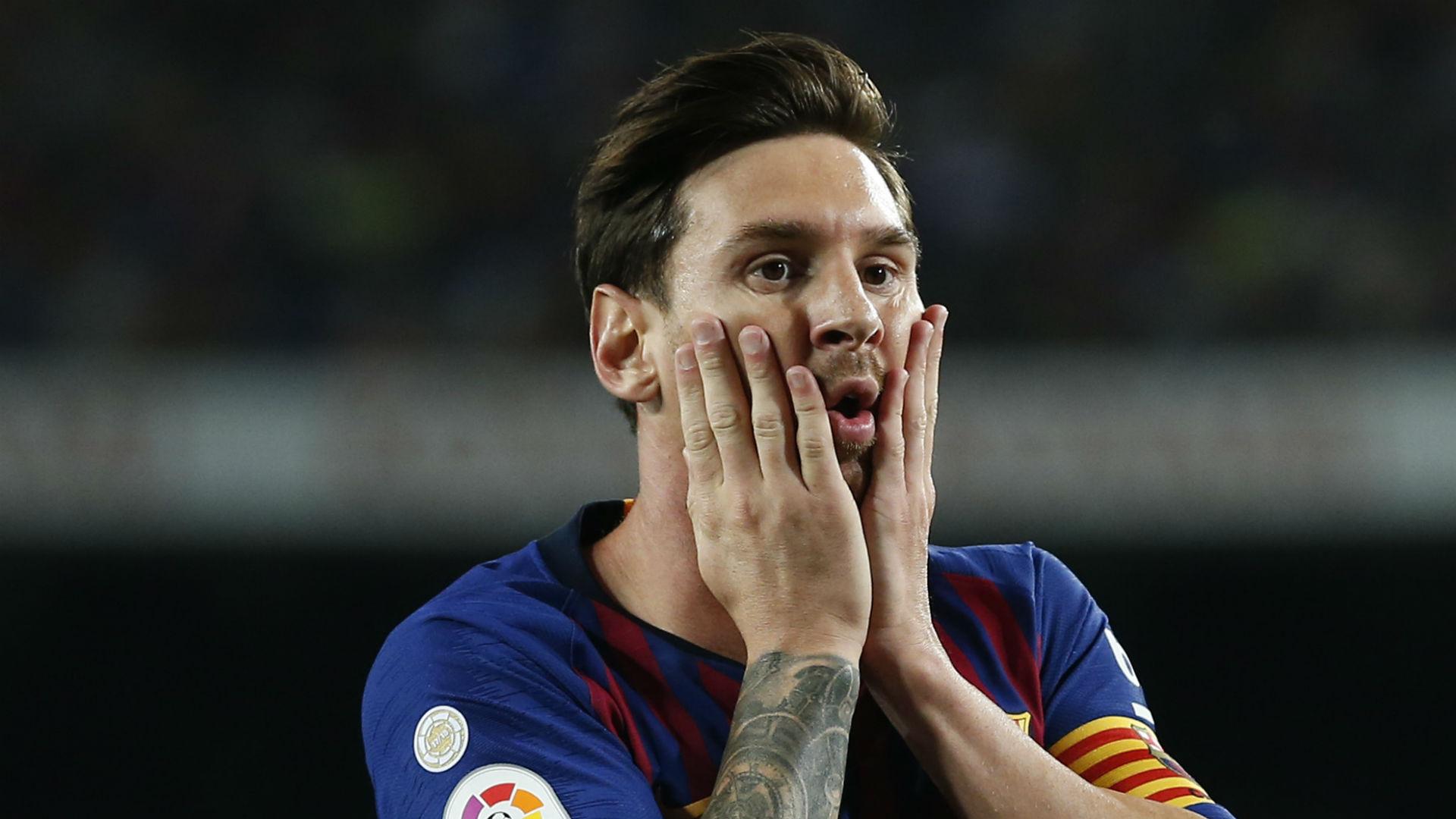 Lionel Messi Barcelona Girona