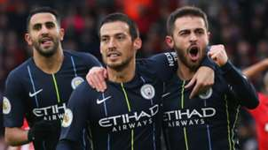 David Silva Bernardo Silva Southampton vs Manchester City Premier League 2018-19