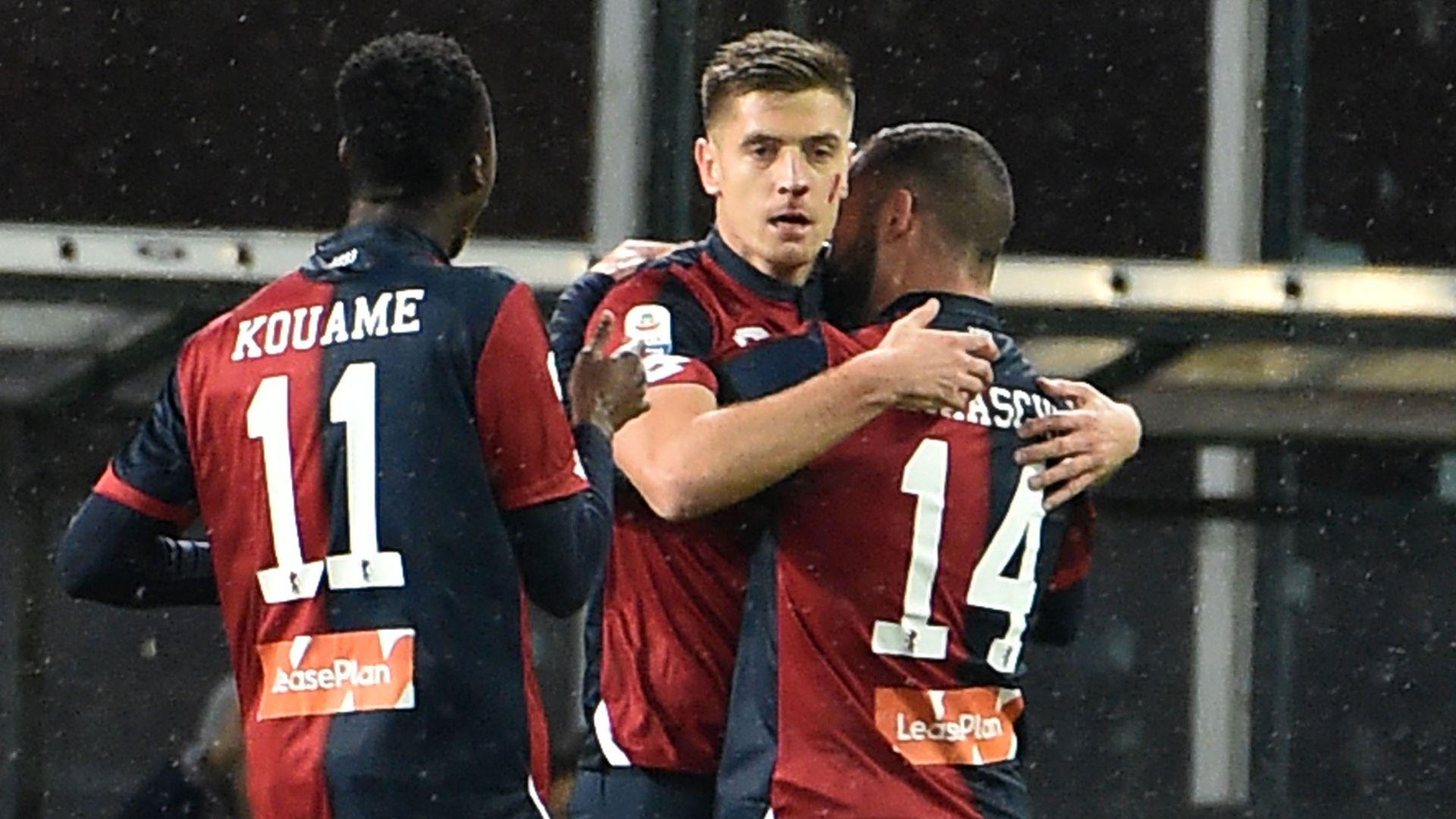 Krzysztof Piatek Genoa Sampdoria