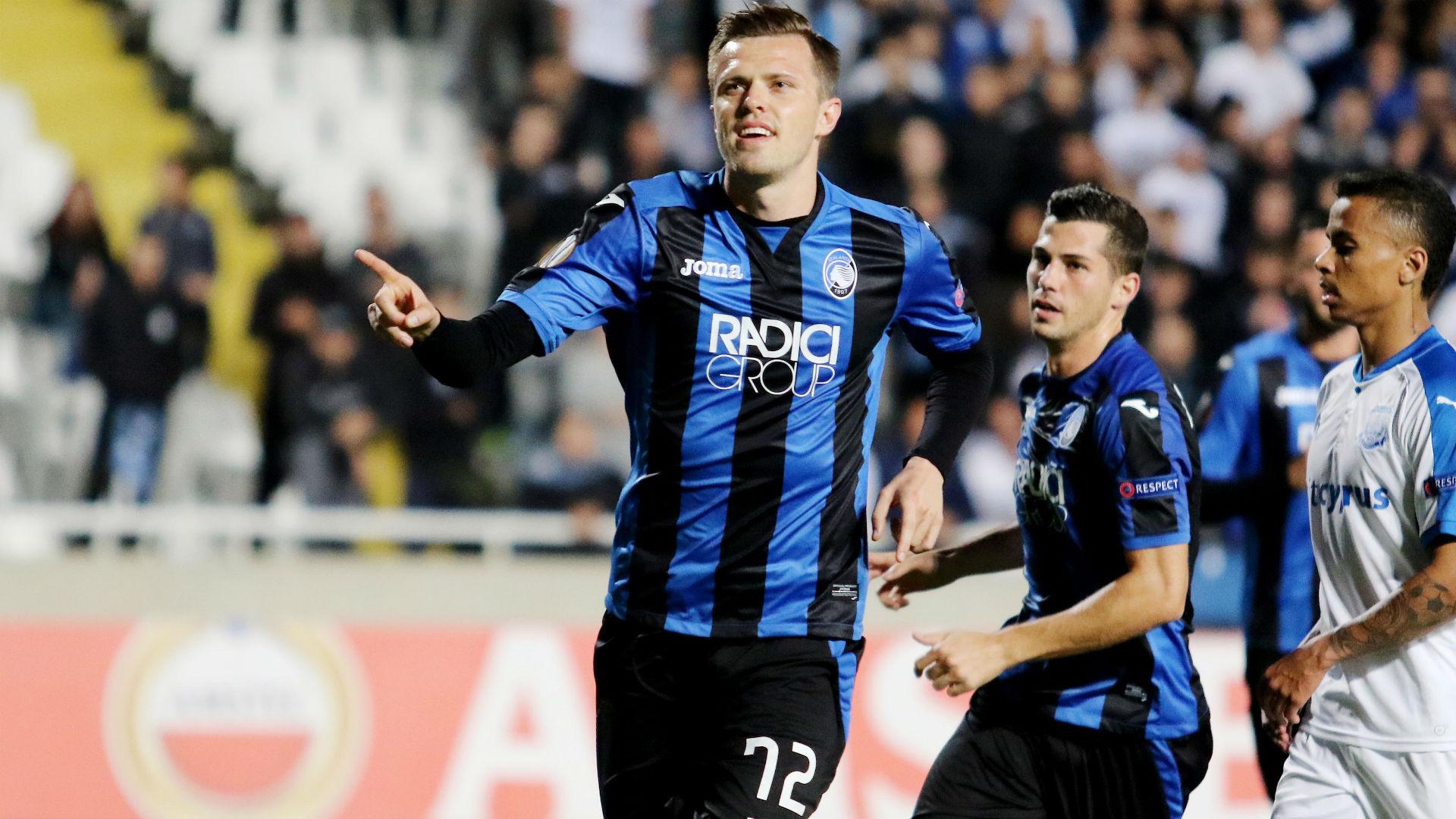 Josip Ilicic Apollon Atalanta Europa League