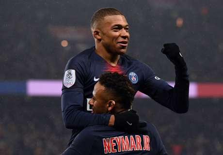 PSG equal club record in Guingamp demolition