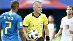 Björn Kuipers, Brazil - Costa Rica, FIFA World Cup 06222018