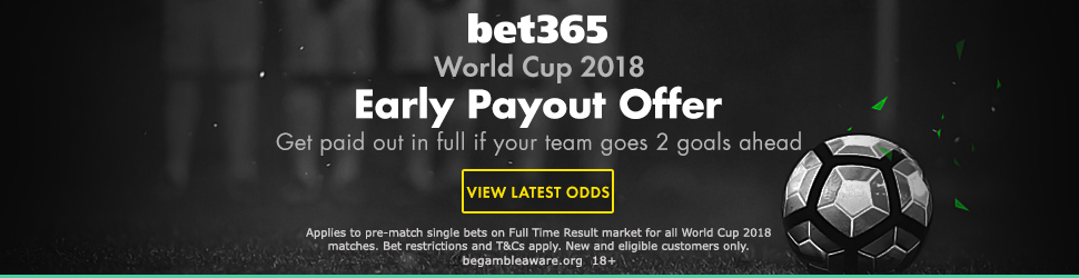 bet365 early payout footer