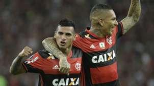 Miguel Trauco Paolo Guerrera Flamengo 09032017