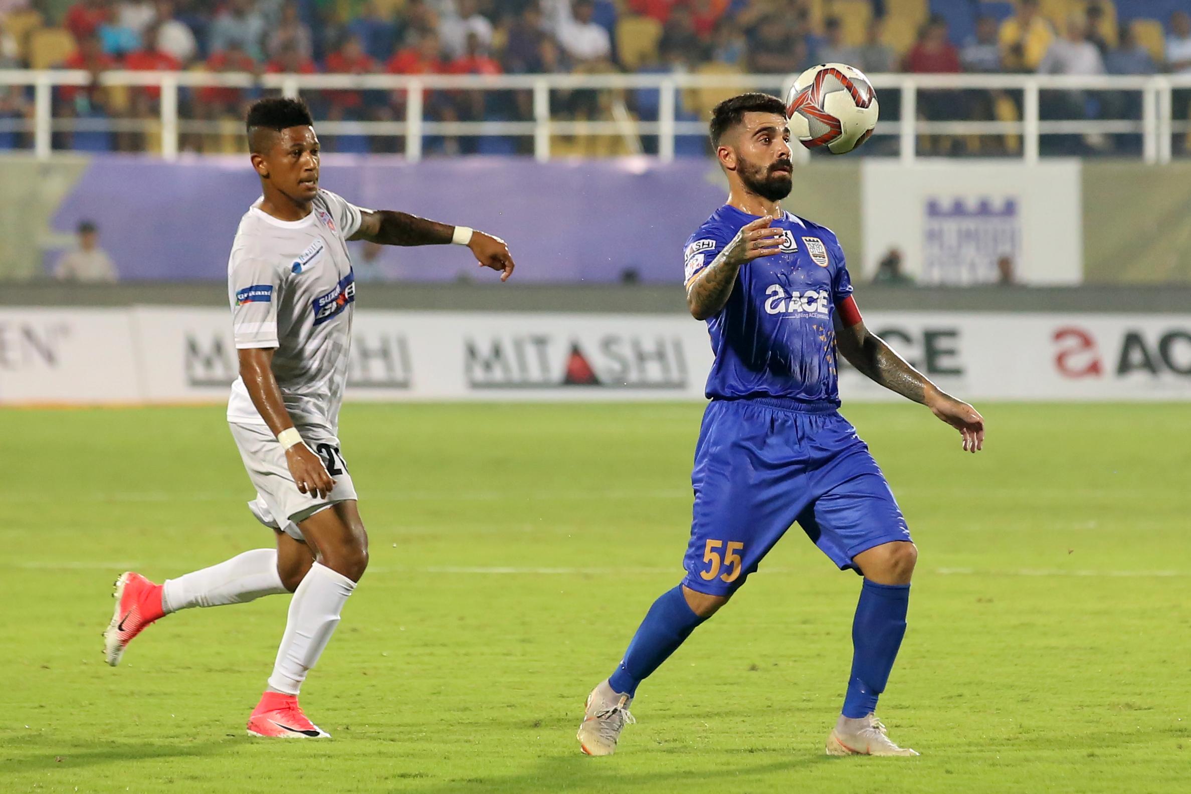 Paulo Machado Mumbai City Pune City ISL 2018-19