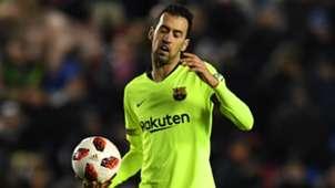 Sergio Busquets Barcelona Levante Copa del Rey 2019