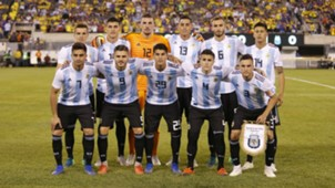 Argentina Colombia Amistoso 110918