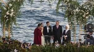 Mesut Ozil Amine Gulse Recep Tayyip Erdogan wedding