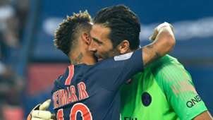 Neymar Gianluigi Buffon PSG Paris Saint-Germain 2018-19