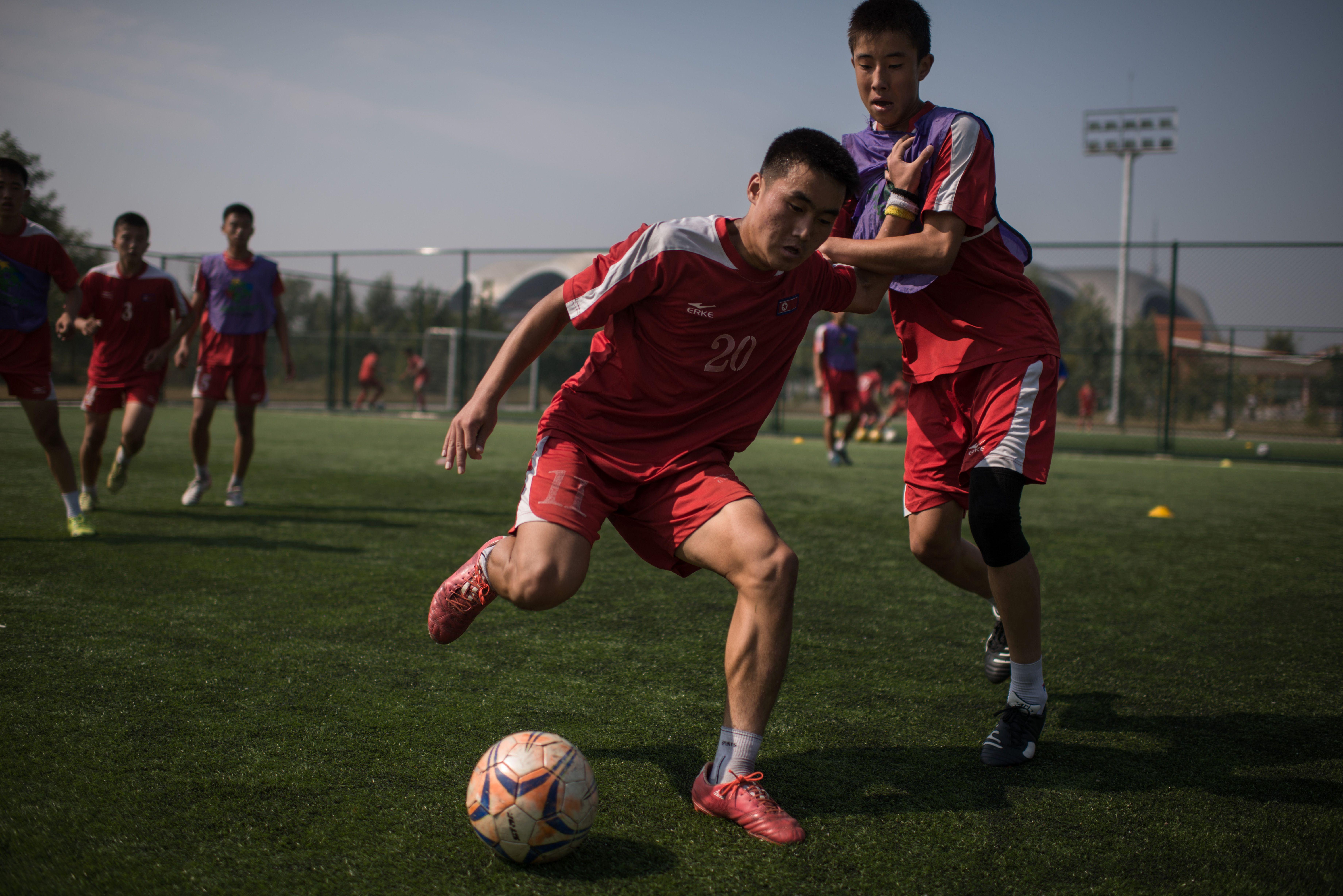 North Korea academy
