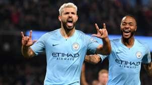 Sergio Agüero Manchester City 27022019