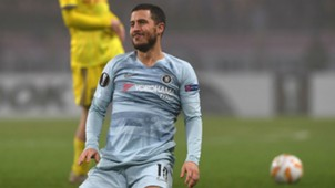 Eden Hazard Chelsea Europa League 2018