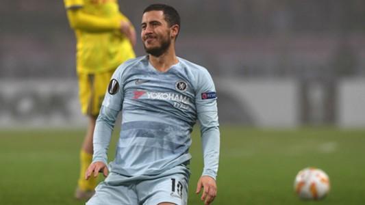 Eden Hazard Chelsea Europa League 2018
