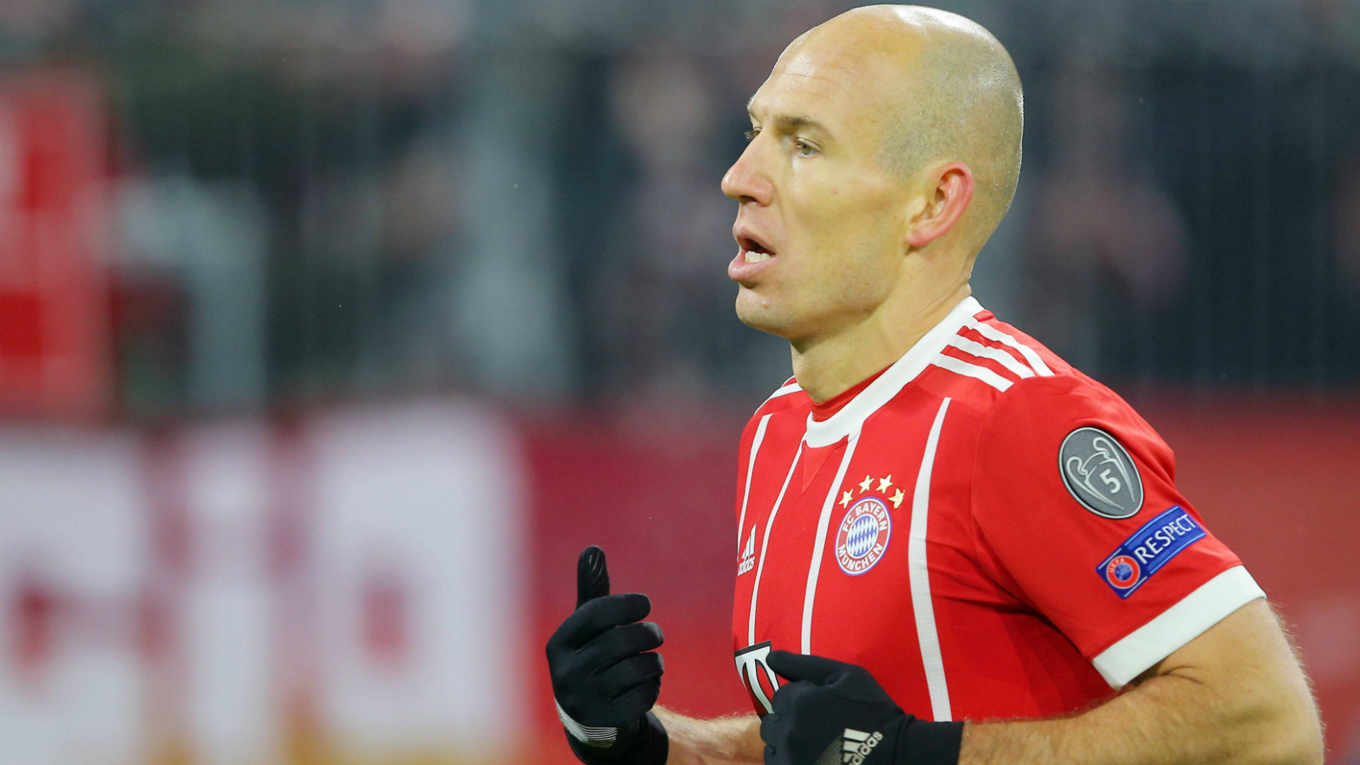 ONLY GERMANY Arjen Robben Bayern Munchen Besiktas Champions League 20022018