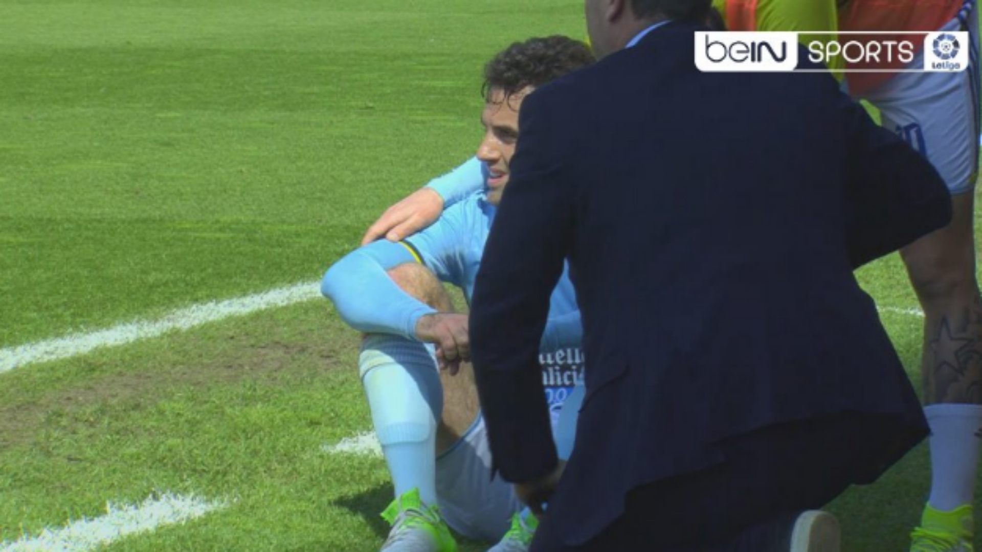 BODY ONLY Giuseppe Rossi Celta injury