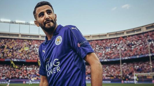 Riyad Mahrez Leicester City Champions League