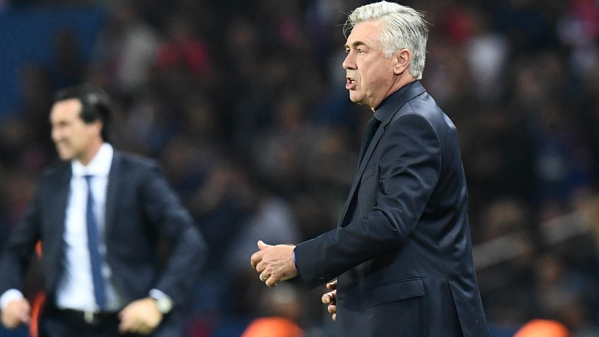Carlo Ancelotti FC Bayern 27092017
