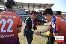 강원FC 조태룡 대표 Gangwon FC