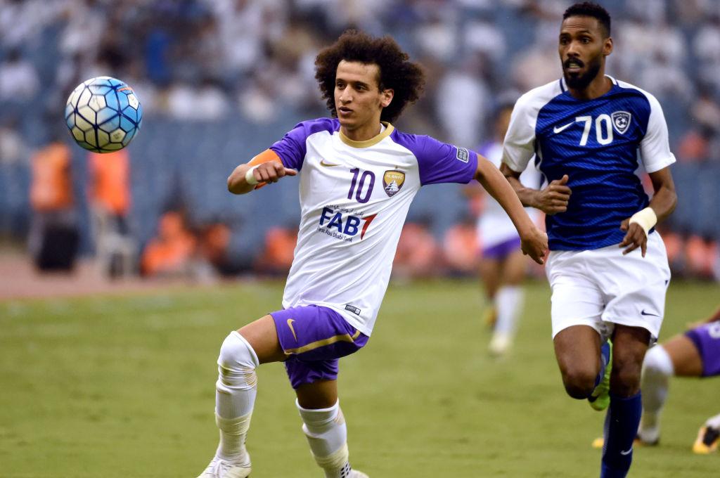Al Hilal vs Al Ain; Omar Abdulrahman