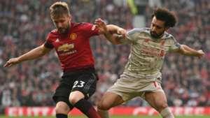 Luke Shaw Mohamed Salah Premier League