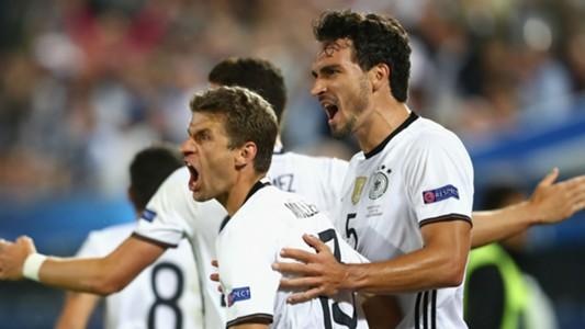 Mats Hummels Euro 2016 Germany v Italy
