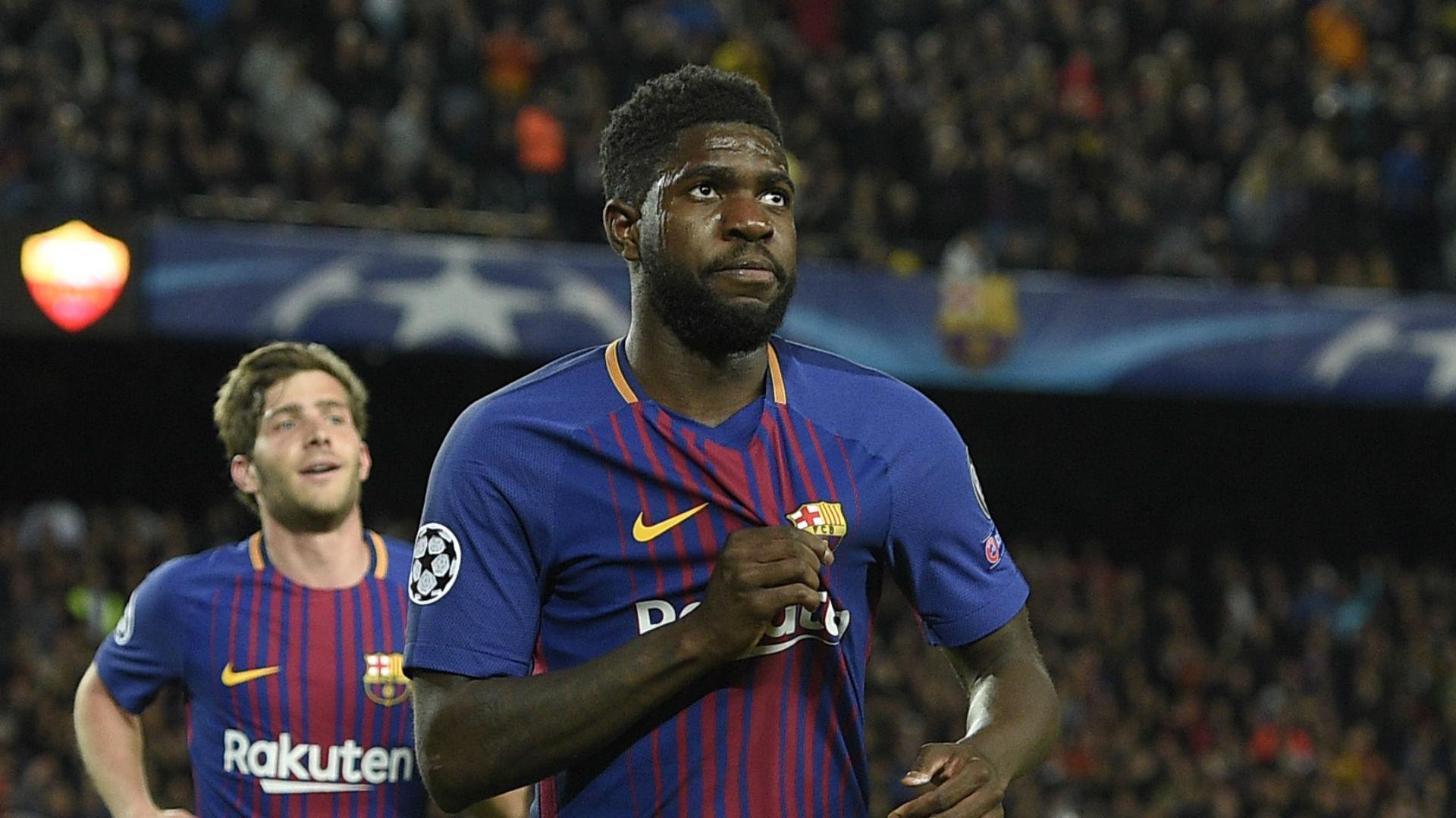 Barcelona Transfer News Samuel Umtiti Dispels Man United Rumours With New Contract Goal Com