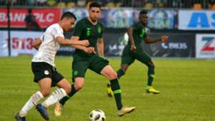 Abdalla Moustafa, Leon Balogun - Nigeria vs. Egypt