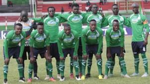 Thika United squad.